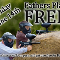 Free* Paintball For Dads Friday June 14th